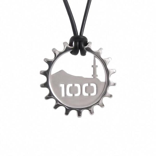 """Сребърен медальон """"Витоша 100"""" изработен от Артиш фемили"""